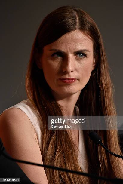 """Producer Janine Jackowski attends the """"Toni Erdmann"""" press conference during the 69th annual Cannes Film Festival at the Palais des Festivals on May..."""