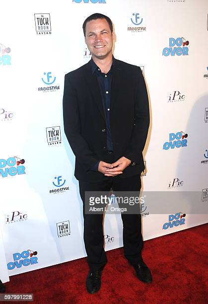 Producer Jared Safier arrives for the Premiere Of Do Over held at iPic Theaters on August 29 2016 in Los Angeles California