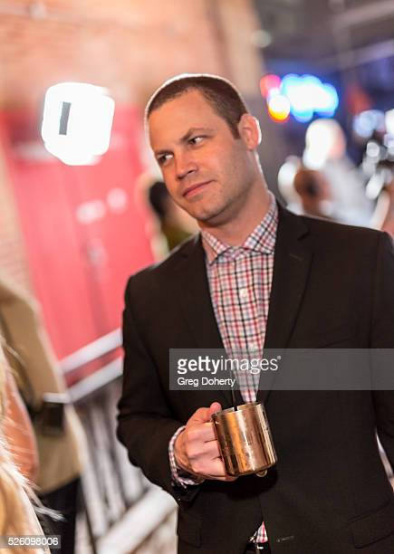 Producer Jared Safier attend the LANY Entertainment Presents The Bay PreEmmy Party at the St Felix on April 28 2016 in Hollywood California