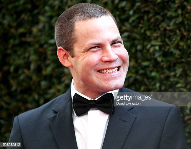 Producer Jared Safier attends the 43rd Annual Daytime Creative Arts Emmy Awards at Westin Bonaventure Hotel on April 29 2016 in Los Angeles California