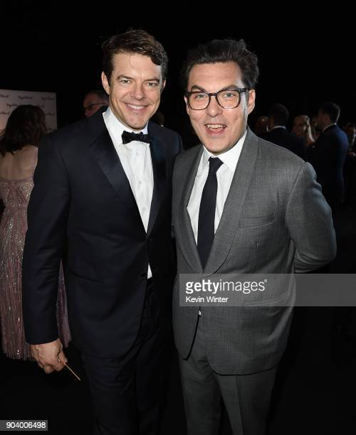 Producer Jason Blum and director Joe Wright attend The 23rd Annual Critics' Choice Awards at Barker Hangar on January 11 2018 in Santa Monica...