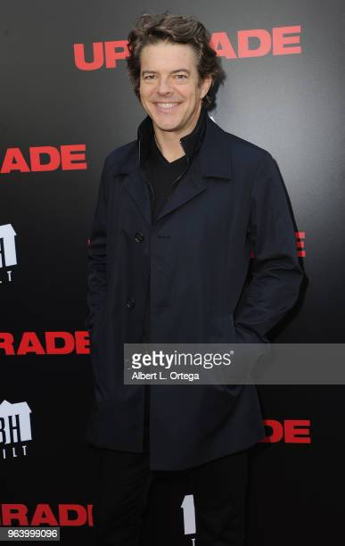 Producer Jason Blum arrives for the premiere of BH Tilt's Upgrade held at the Egyptian Theatre on May 30 2018 in Hollywood California