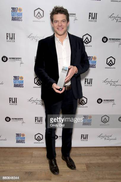 Producer Jason Blum poses backstage during IFP's 27th Annual Gotham Independent Film Awards on November 27 2017 in New York City