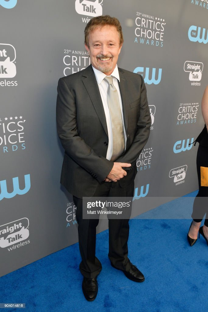 Producer Jason Clark attends The 23rd Annual Critics' Choice Awards at Barker Hangar on January 11, 2018 in Santa Monica, California.