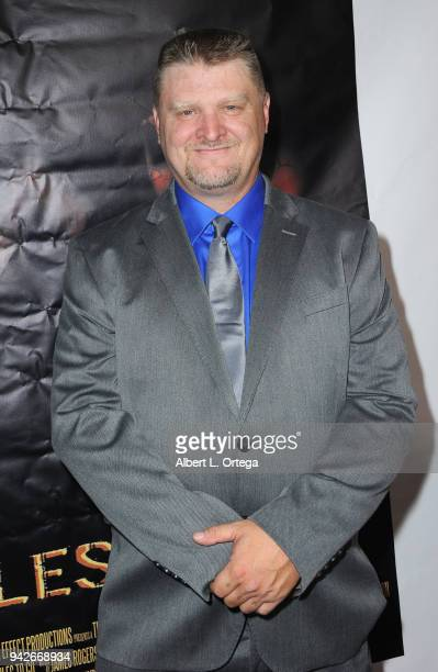 Producer Jason F Knittle arrives for the Los Angeles Premiere of 'Miles To Go' held at Writers Guild Theater on April 5 2018 in Beverly Hills...