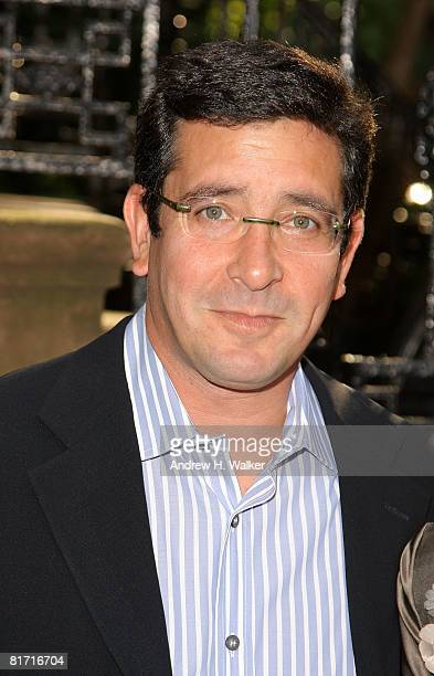 Producer Jason Kliot attends the reception for Gonzo The Life and Work of Dr Hunter S Thompson on June 25 2008 at The Waverly Inn in New York City