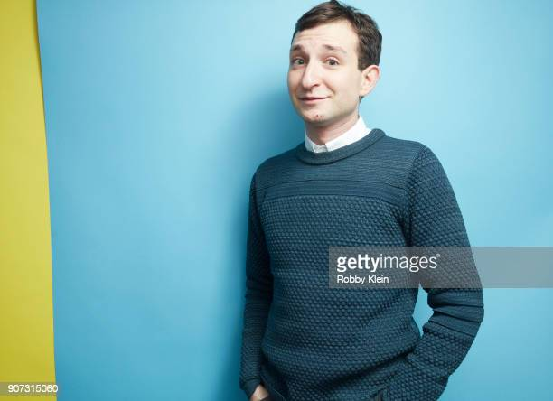 Producer Jason Klorfein from the film 'Maude' poses for a portrait in the YouTube x Getty Images Portrait Studio at 2018 Sundance Film Festival on...
