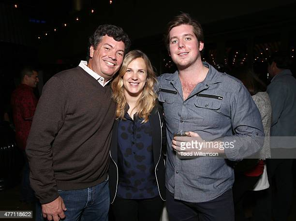 Producer Jason Netter Director/CoWriter Anna Axster and Executive Producer Tucker Moore attend the after party for the world premiere of A Country...