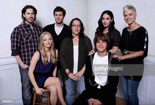 Producer Jason Reitman actress Amanda Seyfried actor Adam Brody director Karyn Kusama actor Johnny Simmons actress Megan Fox and writer Diablo Cody...