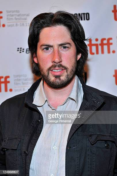 Producer Jason Reitman arrives at Jeff Who Lives At Home Premiere at The Elgin during the2011 Toronto International Film Festival on September 14...