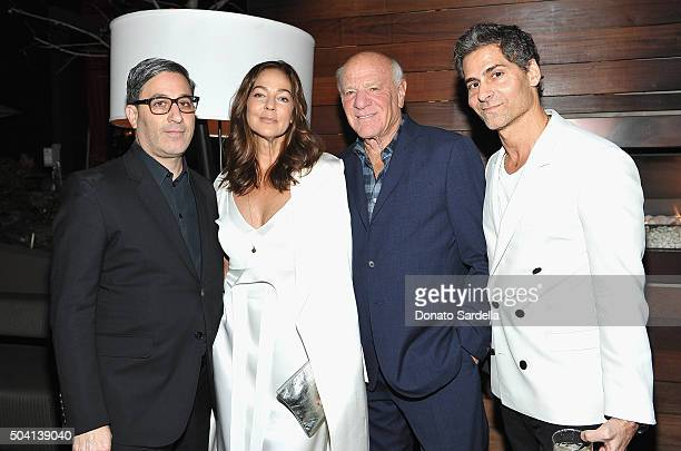 Producer Jason Weinberg Kelly Klein Barry Diller and Tony Melillo attend Photographs by Kelly Klein Hosted by Barry Diller and Jason Weinberg at BOA...