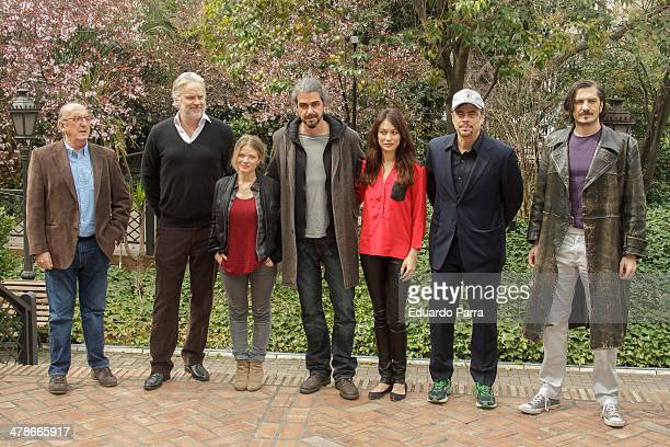 Producer Jaume Roures actor Tim Robbins actress Melanie Thierry director Fernando Leon de Aranoa actress Olga Kurylenko actor Benicio del Toro and...