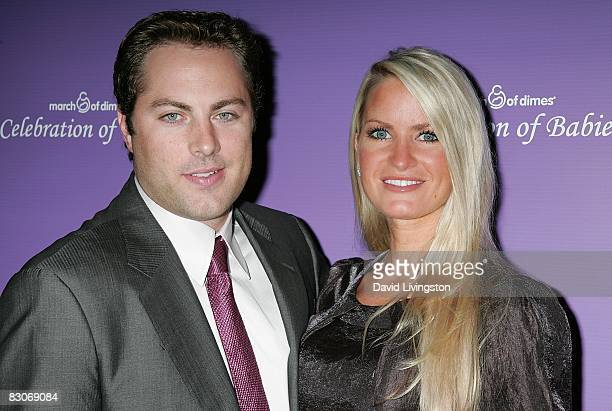 Producer Jay McGraw and actress Erica Dahm attend the March of Dimes' Celebration of Babies at The Beverly Hilton Hotel on September 27 2008 in...