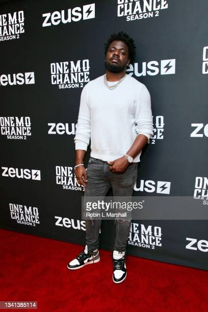 """Producer Jay Uncut attends Zeus Network's """"One Mo Chance"""" Season 2 Premiere at AMC Universal at City Walk on September 19, 2021 in Universal City,..."""