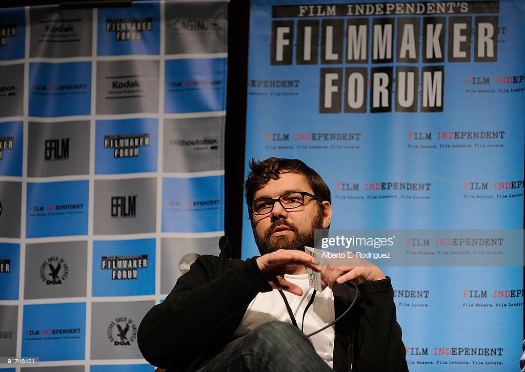 Producer Jay Van Hoy attends day 1 of Film Independent's Filmmaker Forum at the Directors Guild Theatre on October 10, 2009 in West Hollywood, California.