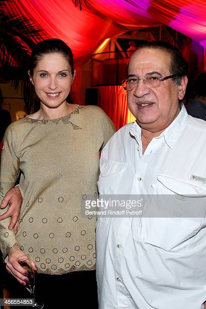 Producer JeanLuc Azoulay and his wife Isabelle Bouysse attend the 1st wedding anniversary party of actress Cyrielle Clair and businessman Michel...