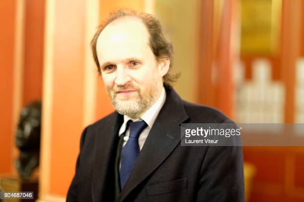 """Producer Jean-Marc Dumontet attends """"L'Evenement"""" Theater Play during 'Paroles Citoyennes' 10 shows to wonder about the society at Theatre Antoine on..."""