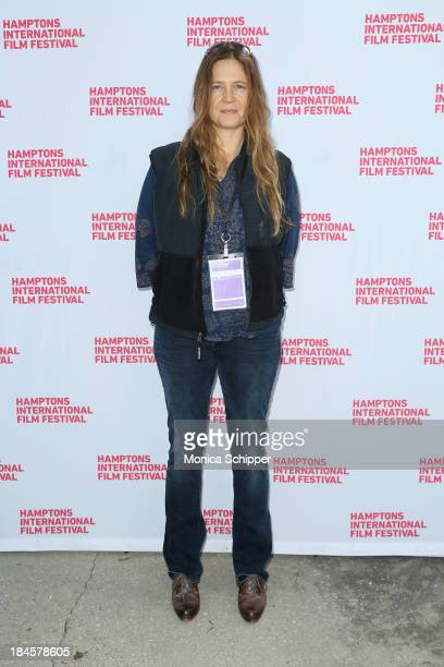 Producer Jeannie Donohoe attends the 21st Annual Hamptons International Film Festival Closing Day on October 14, 2013 in East Hampton, New York.