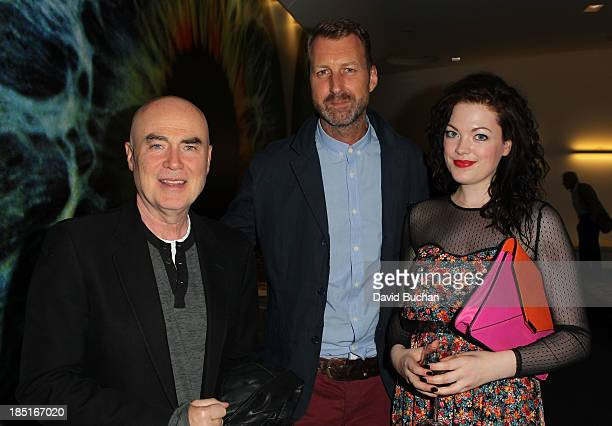 Producer Jed Doherty Director Richard Laxton and actress Jessica Doherty attend the BAFTA Brits to Watch The Screening of Burton and Taylor With...