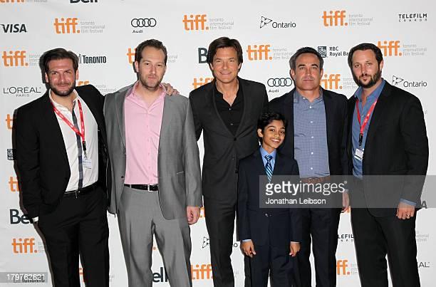Producer Jeff Culotta producer Mason Novick director/producer/actor Jason Bateman actor Rohan Chand executive producer Jim Garavente and producer...