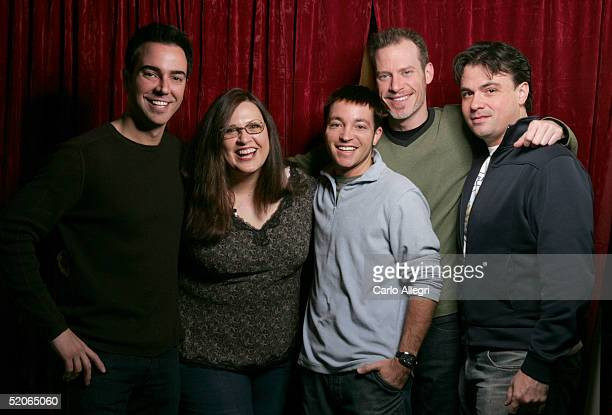 Producer Jeff Marchelletta writer/director/producer Carlene Cordova coproducer Josh Mandel writer/producer Cliff Broadway and executive producer Tom...