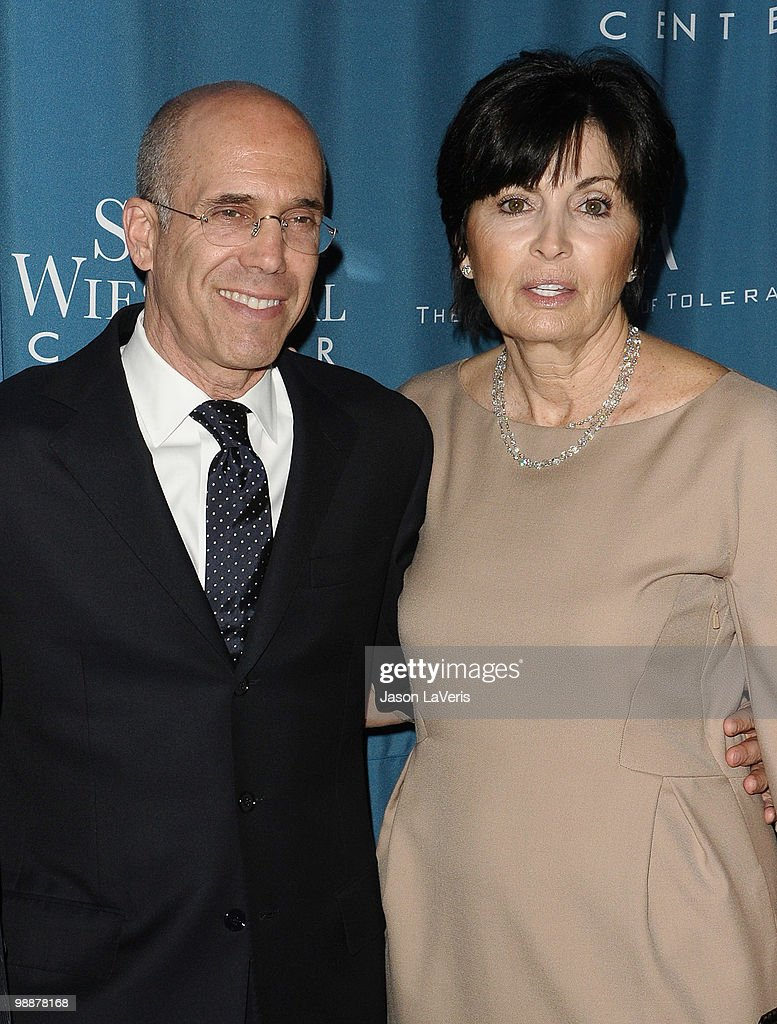 Producer Jeffrey Katzenberg and wife Marilyn Katzenberg attend the Simon Wiesenthal Center's 2010 Humanitarian Award ceremony at the Beverly Wilshire hotel on May 5, 2010 in Beverly Hills, California.