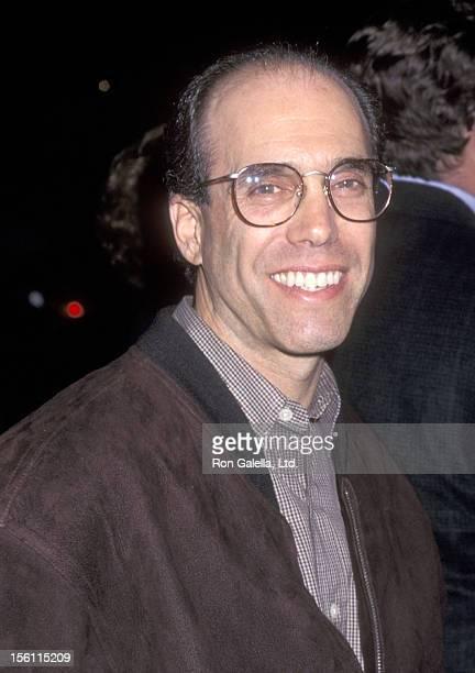 Producer Jeffrey Katzenberg attends the 'Amistad' Beverly Hills Premiere on December 8 1997 at Samuel Goldwyn Theatre in Beverly Hills California