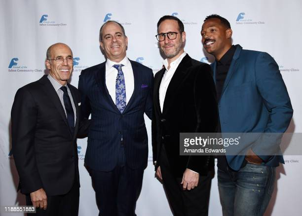 Producer Jeffrey Katzenberg Chief Creative Officer of CBS Corporation and Chairman CEO of Showtime Networks David Nevins WME Entertainment Partner...