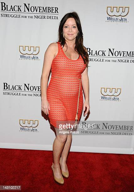 Producer Jenifer Brougham attends the 'Black November' screening on April 18 2012 in Beverly Hills California