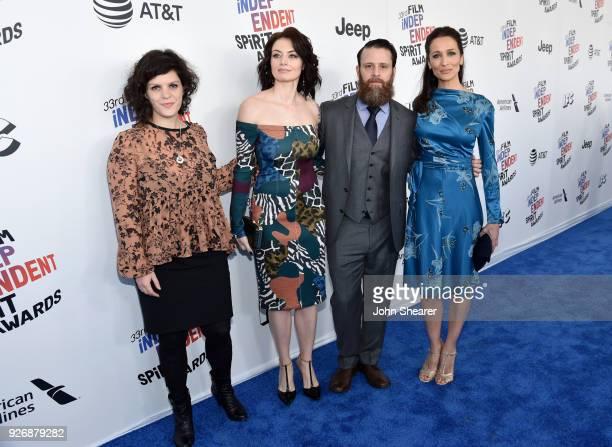 Producer Jenn Wexler Actor Natasha Romanova Cinematographerproducer Noah Greenberg and Director/producer Ana Asensio attends the 2018 Film...