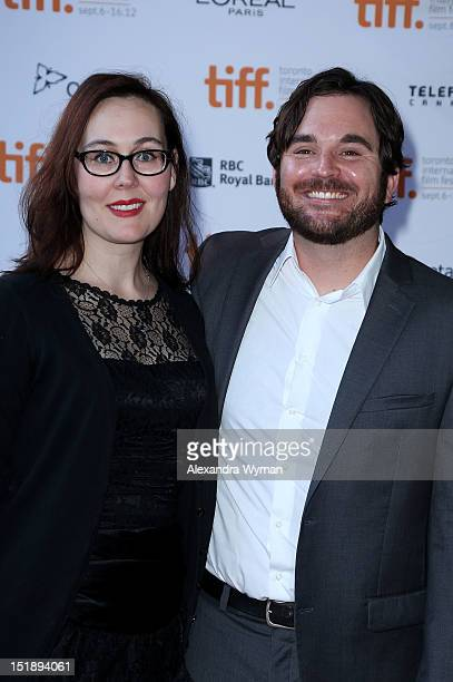 Producer Jennifer Cochis and director James Ponsoldt attend the Smashed premiere during the 2012 Toronto International Film Festival at Ryerson...