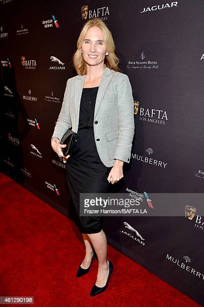 Producer Jennifer Fox attends the BAFTA Los Angeles Tea Party at The Four Seasons Hotel Los Angeles At Beverly Hills on January 10, 2015 in Beverly...