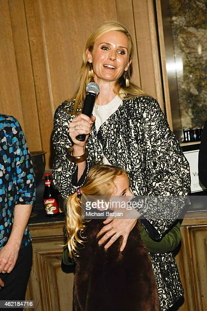 Producer Jennifer Newsom and daughter Montana Newsom Brooklyn Newsom attend St Regis Rand Luxury Host Film Reception For The Mask You Live In During...