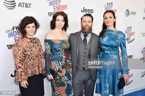 Producer Jennifer Wexler actor Natasha Romanova director of photography/producer Noah Greenberg and director/producer Ana Asensio attends the 2018...
