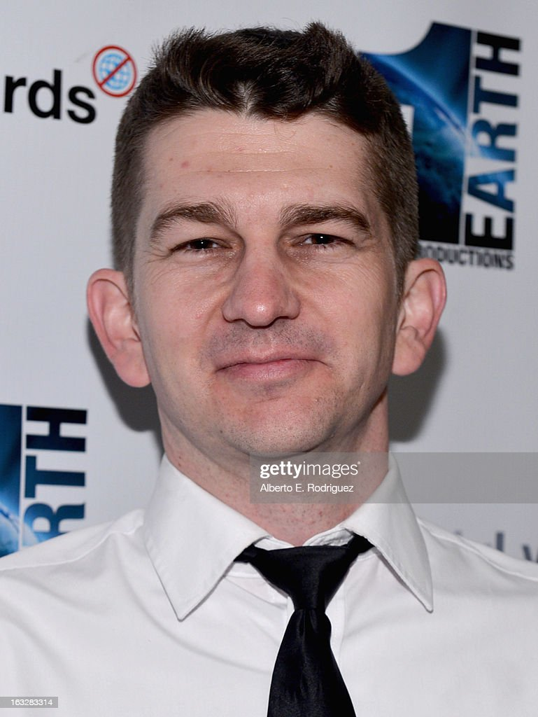 Producer Jeremy Chilvers attend a screening of 1 Earth Productions' 'Greedy Lying Bastards' at Harmony Gold Theatre on March 6, 2013 in Los Angeles, California.