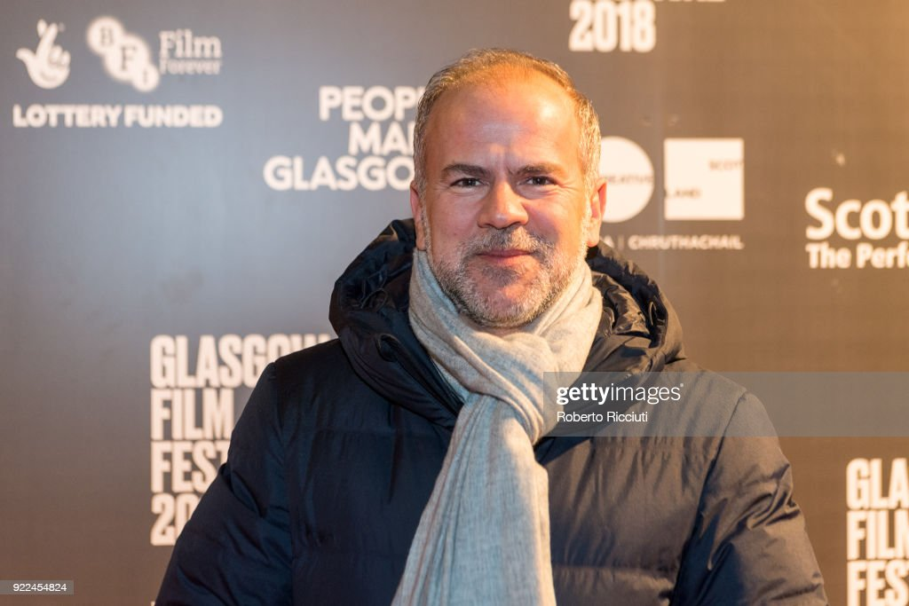 Producer Jeremy Dawson attends the UK premiere of 'Isle of Dogs' and opening gala of the 14th Glasgow Film Festival at Glasgow Film Theatre on February 21, 2018 in Glasgow, Scotland.