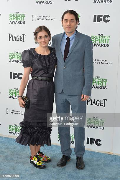 Producer Jeremy Kleiner and guest attend the 2014 Film Independent Spirit Awards at Santa Monica Beach on March 1 2014 in Santa Monica California