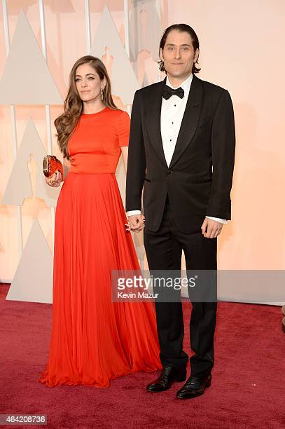 Producer Jeremy Kleiner and guest attend the 87th Annual Academy Awards at Hollywood Highland Center on February 22 2015 in Hollywood California