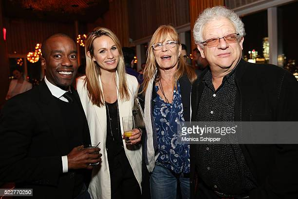 Producer Jeremy Thomas and guests attend the 2016 Tribeca Film Festival After Party For HighRise Sponsored By EFFEN Vodka at The Top of The Standard...