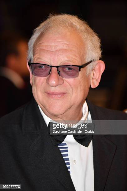 Producer Jeremy Thomas attends the screening of 'Dogman' during the 71st annual Cannes Film Festival at Palais des Festivals on May 16 2018 in Cannes...