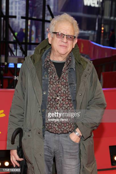 Producer Jeremy Thomas poses at the Pinocchio premiere during the 70th Berlinale International Film Festival Berlin at Berlinale Palast on February...
