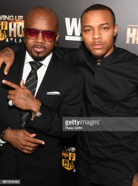 Producer Jermaine Dupri and rapper/actor Shad Moss attends 'Growing Up Hip Hop Atlanta' Atlanta Premiere at Woodruff Arts Center on May 23 2017 in...