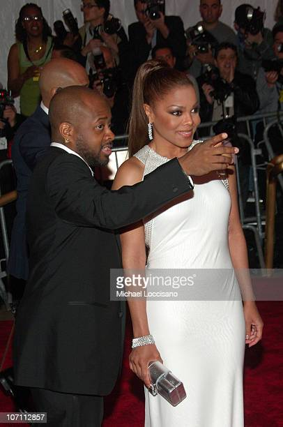 Producer Jermaine Dupri and singer Janet Jackson attend the Metropolitan Museum of Art Costume Institute Gala Superheroes Fashion And Fantasy at the...