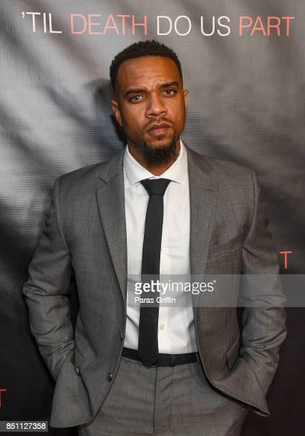 Producer Jerome Romeo Jones at 'Til Death Do Us Part Atlanta Red Carpet Screening and QA at Regal Atlantic Station on September 21 2017 in Atlanta...