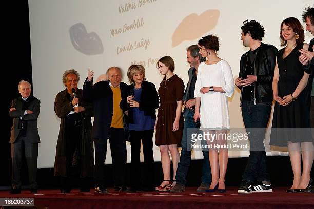 Producer Jerome Seydoux Producer Albert Koski Musician Ivry Gitlis Director Daniele Thompson Actress Lou de Laage Christopher Thompson Actress Clara...