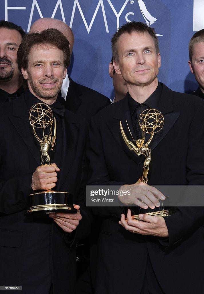 59th Annual Emmy Awards - Press Room : News Photo