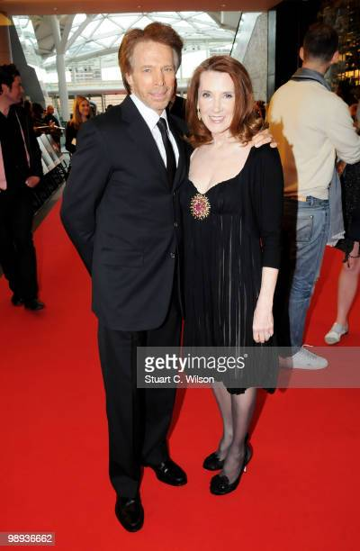 Producer Jerry Bruckheimer and wife Linda Bruckheimer attend the World Premiere of 'Prince of Persia: The Sands of Time' at the Vue Westfield on May...