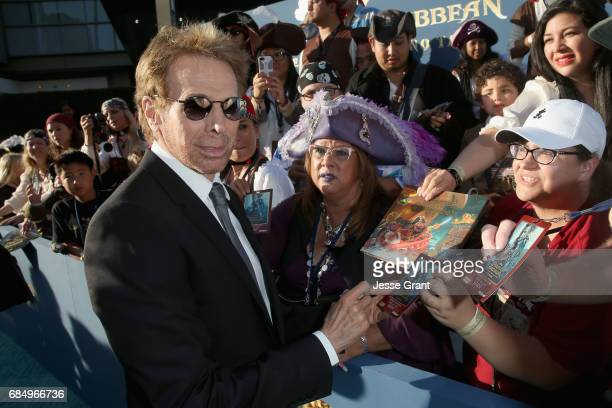 """Producer Jerry Bruckheimer at the Premiere of Disney's and Jerry Bruckheimer Films' """"Pirates of the Caribbean Dead Men Tell No Tales"""" at the Dolby..."""