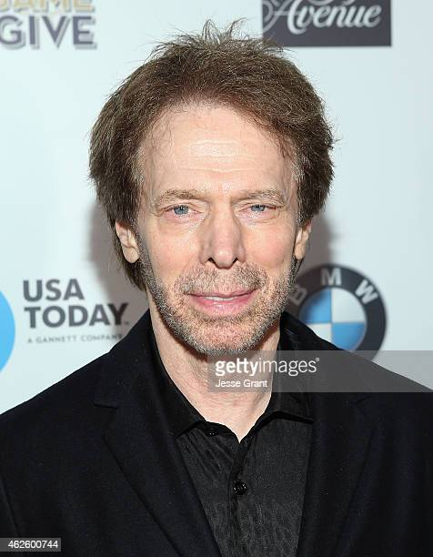 Producer Jerry Bruckheimer attends The Giving Back Fund's Big Game Big Give at the home of Erika and Matt Williams on January 31 2015 in Phoenix...