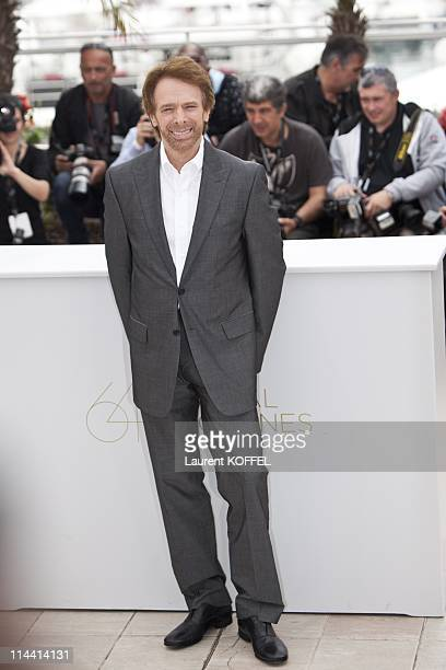 US producer Jerry Bruckheimer attends the 'Pirates of the Caribbean On Stranger Tides' Photocall during the 64th Annual Cannes Film Festival at...